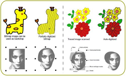 Programa de criação de bordados Janome Digitizer MB - Mundo dos Bordados 4ad4da49d13